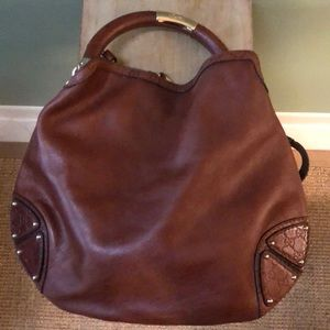 BRAND NEW Gucci Indy Leather Hobo bag with Tassels